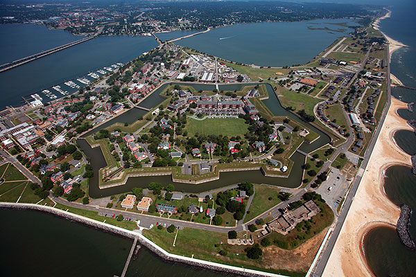 Places in Hampton, Virginia, US