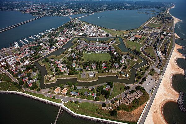 Places in Hampton, Virginia, US
