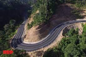 Pembangunan Jalan Raya Perbatasan Indonesia-Malaysia
