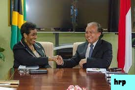 Kerjasama China-Jamaika : Jalan Raya Buatan China Dibuka di Jamaika